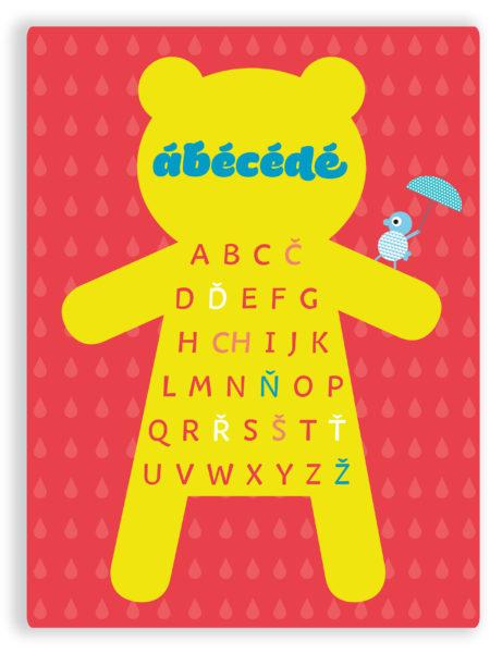 abecedatyrkysovočervený