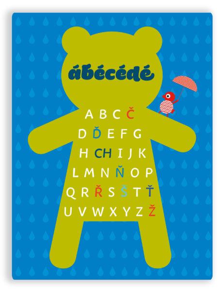 abecedazelenomodry